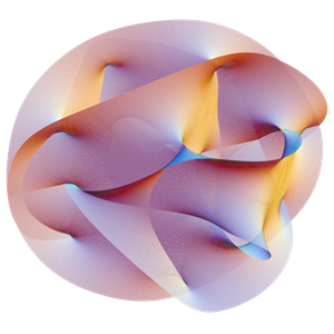 Calabi Yau Manifest illustration representing continuum mechanics