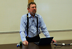 Professor Kosterlitz delivers guest lecture at the School of Physics (video)