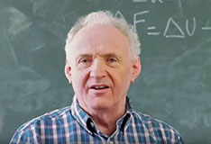 Professor Mike Gunn explains Kosterlitz and Thouless' research (video)
