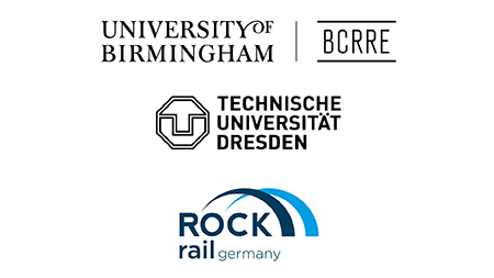 BCRRE Rock Rail and TU Dresden Logo