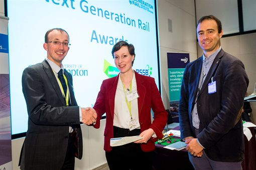 Heather Douglas - Next Generation Rail Award