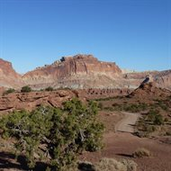 Early Mesozoic rocks of Capitol Reef National Park, southern Utah, which record the beginning of the age of dinosaurs
