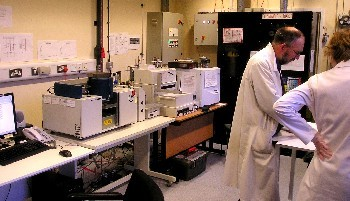 GV Isoprime Mass spectrometer with EA and Multiflow preparation lines