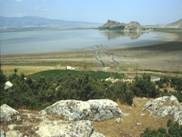 Lake Gölhisar Gölü in SW Turkey, has yielded well-dated sediment cores that have provided much needed data on climate, vegetation and lake nutrient changes via stable isotope, pollen and diatom analyses.