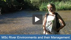 MSc River Environments and their Management video play button
