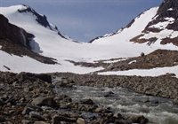 Alpine stream system in Lapland sensitive to climate change