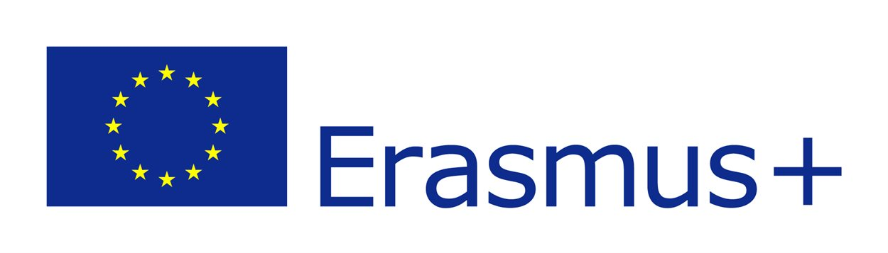 Logo for the Erasmus+ EU funding programme