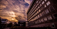 Sunset over Biosciences