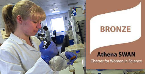 School of Biosciences achieves Athena SWAN Bronze Award