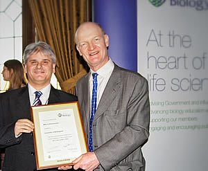 Society of Biology Accreditation presentation - Frank Michelangeli and David Willets