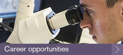 Biosciences postgraduate career opportunities