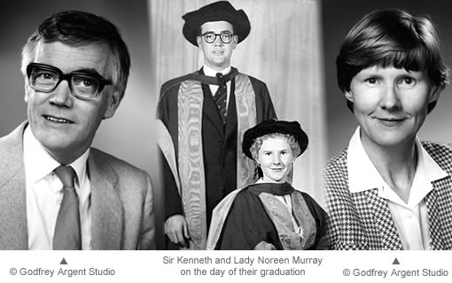 Sir Kenneth and Lady Noreen Murray