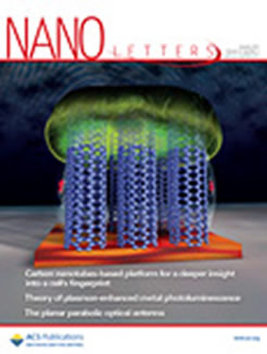 Journal cover illustrating vertically aligned single walled carbon nanotubes for sensing of eukaryotic cells