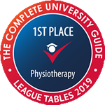 Ranked 1st for Physiotherapy