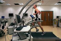 Human Performance Lab treadmill