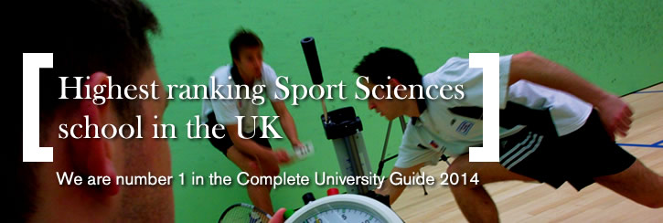 SportEx ranked top in Complete University Guide 2014