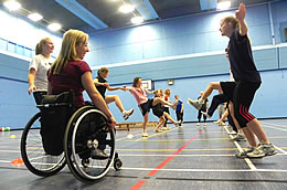 Sporting Champions visit to School of Sport and Exercise Sciences