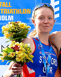 Non Stanford wins 2013 ITU Triathlon