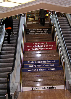 Stair climbing intervention