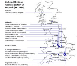 Click here to see a map of where our graduates are working now