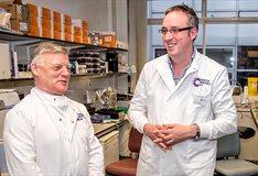 MP Steve McCabe meets scientists