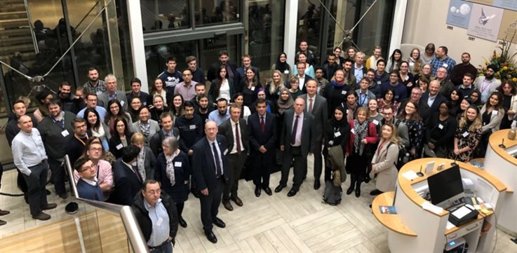 Group photo from BHF Accelerator Event