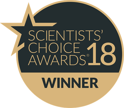 Scientists' Choice Awards18 WinnerBadge-2018-png400x348