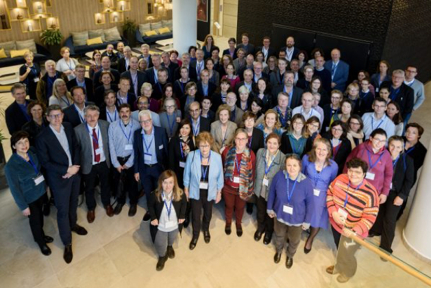 Crowd of delegates at the EndoERN General Assembly 2019