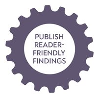 Publish reader-friendly findings