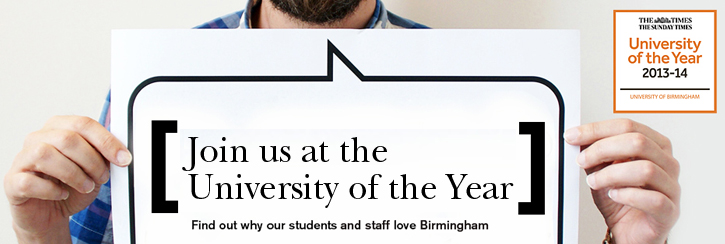 Our students tell you why WE ARE University of the Year