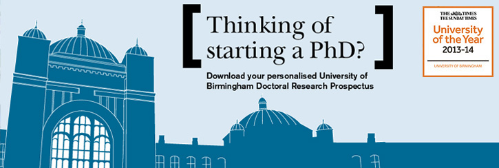 Thinking of starting a PhD?