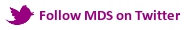 Follow MDS on Twitter