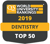 Dentistry top 50 QS World Rankings