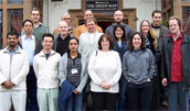 Group photo of people at HWB-NMR
