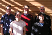 Photo of the NMR staff members