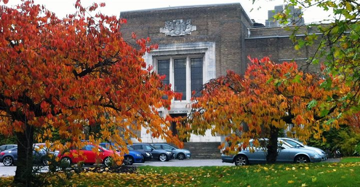 Birmingham Medical School in Autumn