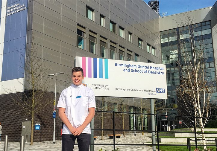 Birmingham student named Undergraduate Dentist of the Year