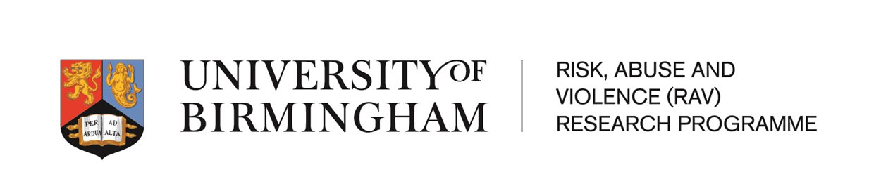 University of Birmingham | Risk, Abuse and Violence (RAV) Research Programme
