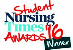 Student Nursing Times 2016 Award Winners