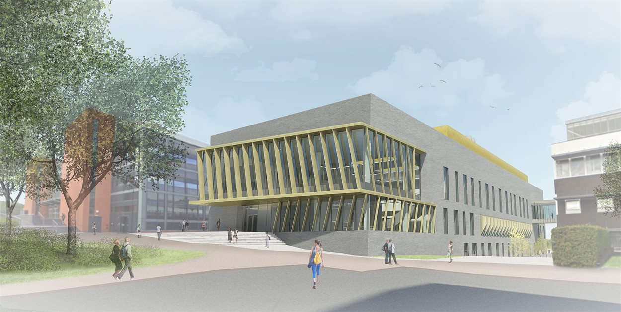 CTL artist impression - entrance