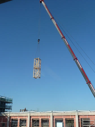 Craning a section