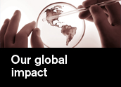Find out more about our international research and partnerships