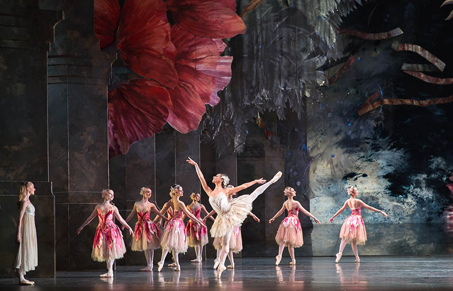 The Nutcracker performed by the Birmingham Royal Ballet at the Birmingham Hippodrome