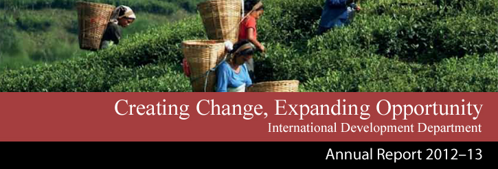 Creating Change, Expanding Opportunity - Annual Report 2012 - 13