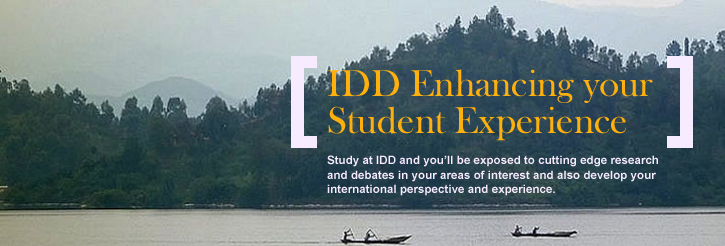 IDD Enhancing your Student Experience