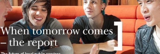 When tomorrow comes - the report. The future of local public sevices