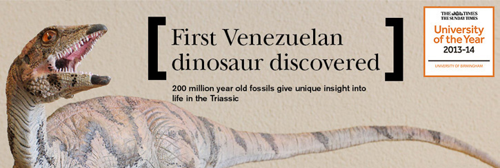 First Venezuelan dinosaur discovered