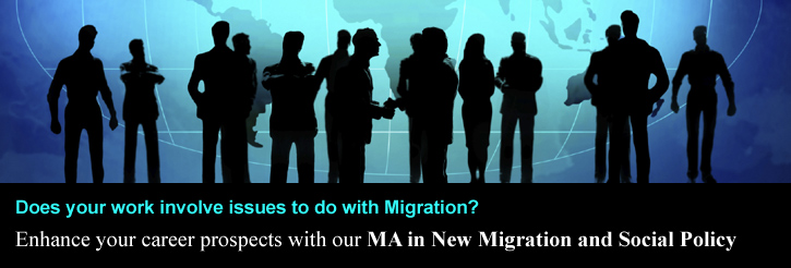 MA New Migration and Social Policy