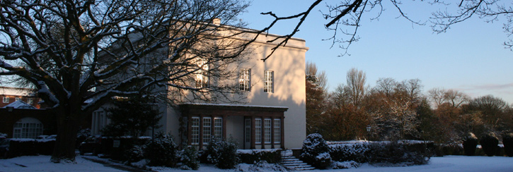 Park House in the winter