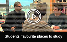 Students favourite places to study